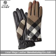 Mode Smartphone Touch Herren Leder Handschuhe