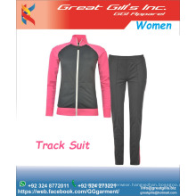 latest design tracksuit for women /Custom 100cotton 260gsm women tracksuit add owm logo / track suit