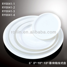 porcelain dinner plates for hotel