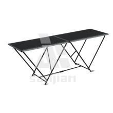 Sj2002-une table pliante en acier de 2 m