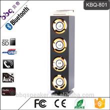 Барбекю КБК-801 4000мач горящие стенд Беспроводная деревянная Башня Bluetooth динамик с питания банк