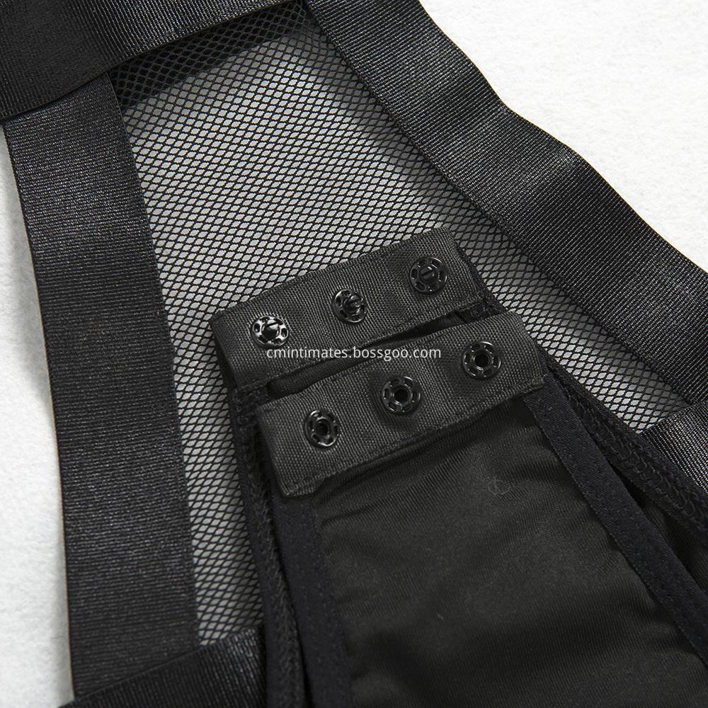 safety buckle on crotch