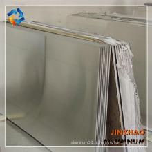 Folha de série 6000 da venda quente 6063 T6 T651 placa de liga de alumínio