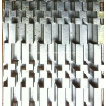 Flüchtige Ölkühler-Flossen-Form des Autos, Flosse