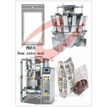 H-S720 T máquina de llenado de sellos de cuatro lados