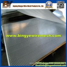 Metal perforado de acero inoxidable para contraventanas enrollables
