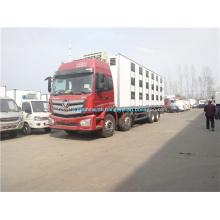 Capacidade refrigerada 60CBM do armário do caminhão 8X4