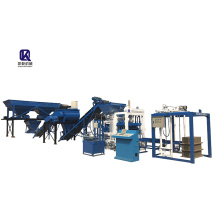 QT4-22B Automatic concrete hollow brick making machine manufacturer