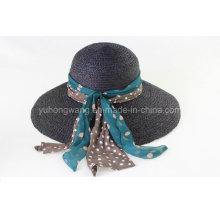 Hot Selling Lady Straw Hat, Baseball Summer Baseball