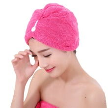 Magic Microfiber Fabric Hair Drying Cap