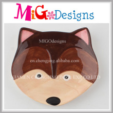 Cute Fox Jewelry Collection Colored Dish