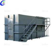 Tratamiento de aguas residuales de alta calidad.