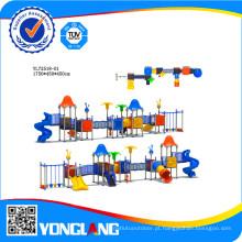 Equipamento comercial de playground de plástico