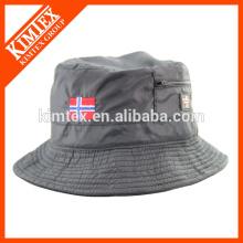 Plain Bucket Hat Summer Cap, Reversible Wholesale Blank Bucket Hat, Vente en gros Cheap Reversible Bucket Hat