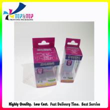 Nueva caja de embalaje plástica de la impresión de la llegada para el cosmético