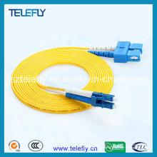 Cable de fibra óptica, cable de conexión de fibra