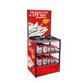 Merchandising Metal Freistehende Küchengeräte Einzelhandel Custom Advertising Löffel Display Regal