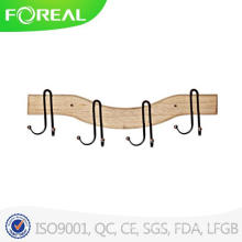 4 Hooks European and American Retro Style Clothes Hooks