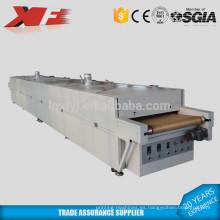 Secador de cinta transportadora de infrarrojos grandes para solidificar el calor y un tipo especial de tinta de impresión