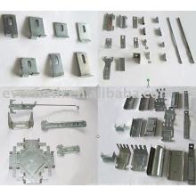 Pregos e acessórios de metal