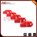 Elecpopular Red Rugged Verstärkte Nylon PA Elektrische Stromkreisunterbrecher Verriegelung Ausrüstung
