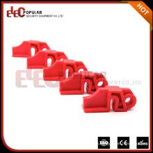 Elecpopular Red Rugged Reforzado Nylon PA Eléctrico Disyuntor Bloqueo Equipo