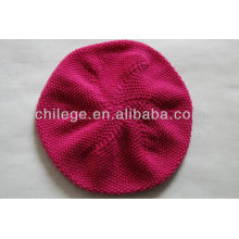 knitted cashmere caps/hats