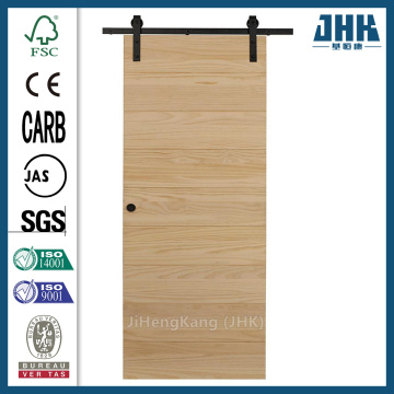 JHK Modern Design Solid Wood Sliding Door