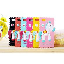 2014 Billig Pferd Silikon Tasche für iPhone 5, Soft Case