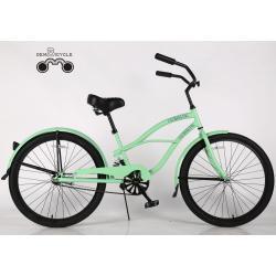 color beach cruiser women bike