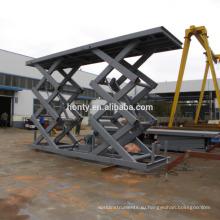3000 кг стационарный ножничный подъемник с максимальной высотой 2400 мм (по заказу)
