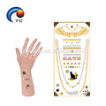 """Just Full of Metallic"" Fake Human Body Art Boho Metallic Gold and Silver Tattoos (Customized Design)"
