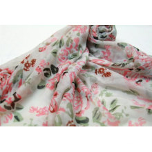 fashion super soft scarf womens flower print long sexy hijab