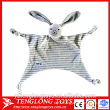2016 new product cheap baby toys, rabbit toy blanket for baby