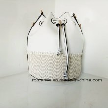 Fabricante por atacado Fancy Lady Leather PU Woven Handbags (NMDK-032802)