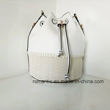 Fabricant en gros Fancy Lady Leather Sacs à main en tissu PU (NMDK-032802)