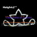 2inch Rhinestone Star Shaped Tiaras