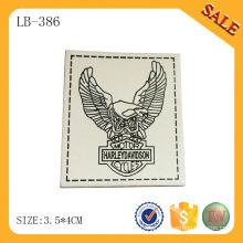 LB386 Moda design vestuário acessórios patchs de couro para roupas Móveis A Preço de Fábrica Competitiva