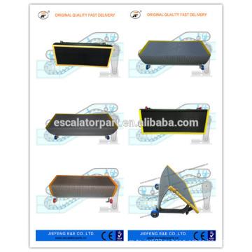 Шаги эскалатора эскалатора JFOTIS эскалатора 800 мм Китайские эскалаторы серые шаги