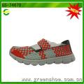 Fujian Jinjiang Factory Woven Shoes Made by Hand Women