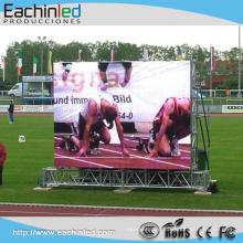 China Serviço de pós-venda competitivo ao ar livre P6 LED barato vídeo wall para publicidade outdoors
