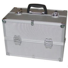 OEM Profession Silvery Portable Aluminum Tool Case for Storage