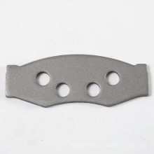 China supplier Q234 steel material auto parts car brake pad back plate D266