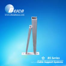Soporte galvanizado de estilo triángulo para uso de soporte de cable