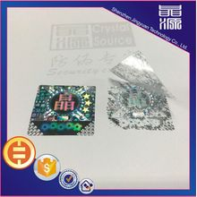 3D Tamper Proof Hologram Stickers