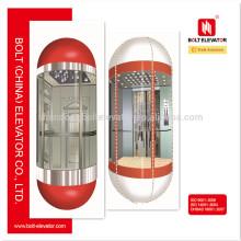 Обзор бокового обзора пассажирской капсулы Лифт