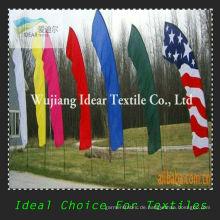 100 % Polyester farbigen Fahnen/gedruckte Werbefahnen