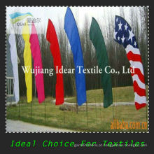 100% poliéster colorido bandeiras/impresso sinalizadores de publicidade