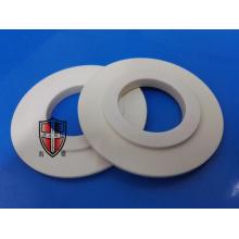 peças cerâmicas do círculo da flange da placa da alumina personalizadas