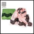 Nueva bufanda modal del lazo del cordón del color sólido